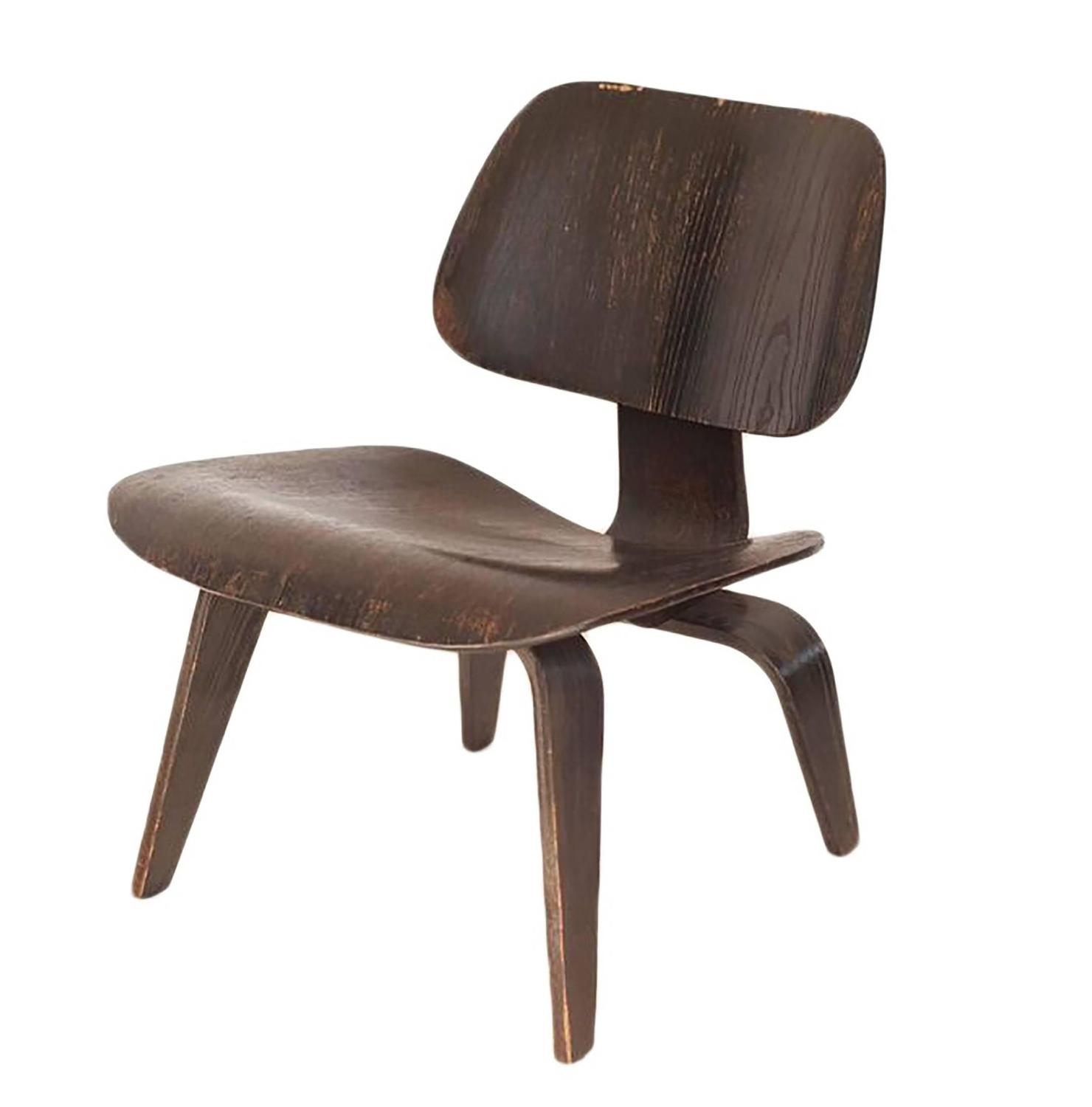 Chaises charles eames lcw for Imitation chaise eames