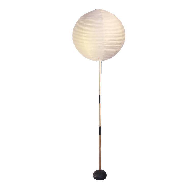 early isamu noguchi akari floor lamp at 1stdibs. Black Bedroom Furniture Sets. Home Design Ideas