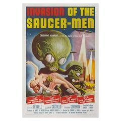 Invasion of the Saucer Men, US film poster