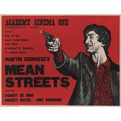 """Mean Streets"" Original British Film Poster"