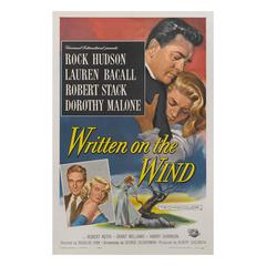 Written on the Wind, US Film Poster