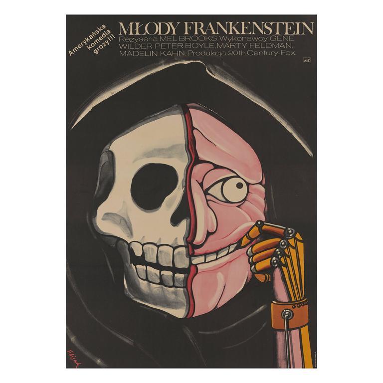Young Frankenstein/Mlody Frankenstein, Polish Film Poster