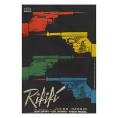 Du Rififi Chez Les Hommes/Rififi, Spanish Film Poster