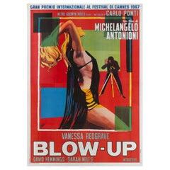 """Blow Up"" Original Italian Movie Poster"