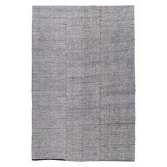 Vintage Turkish Textile Flat-Weave Rug