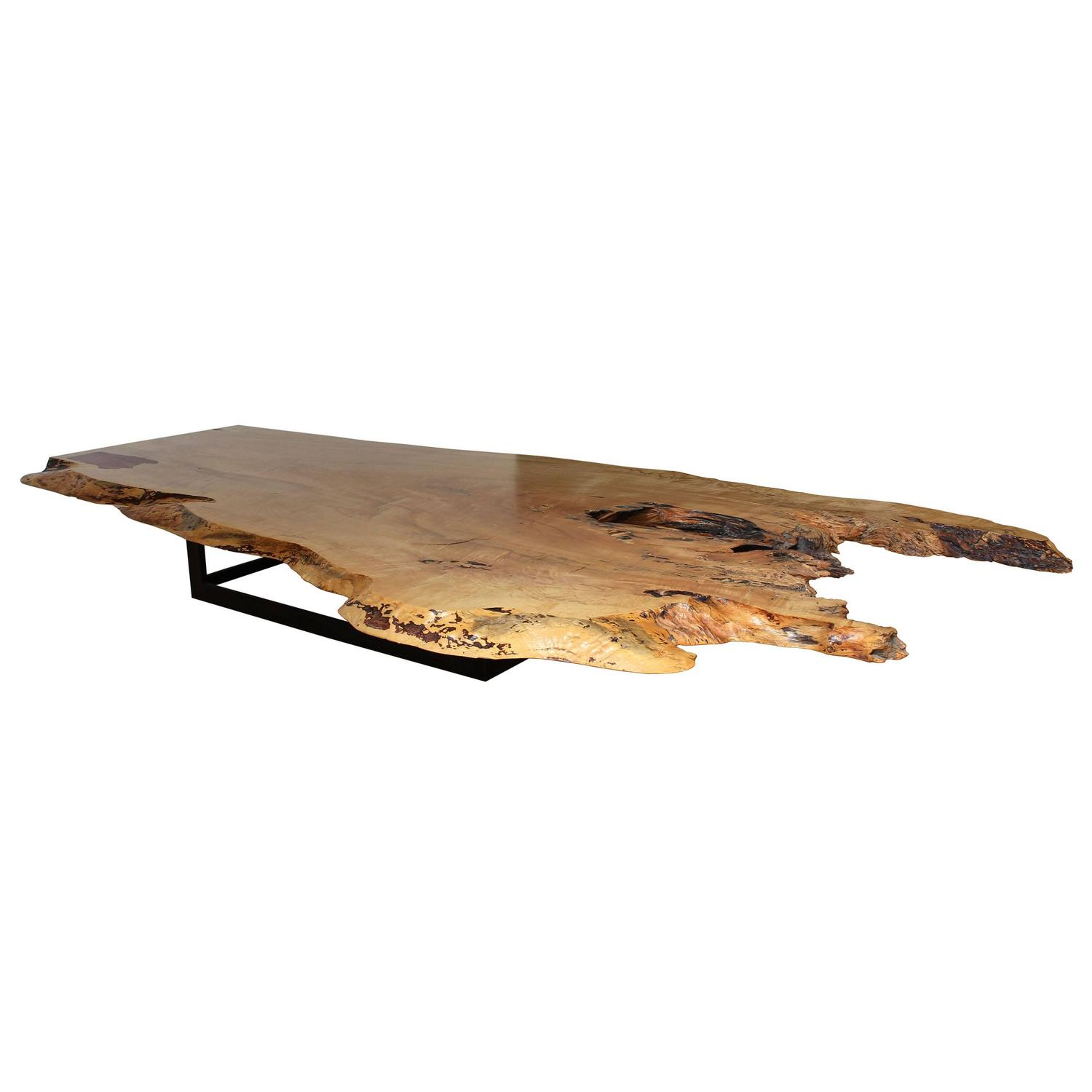 Spalted Maple Coffee Table For Sale At 1stdibs