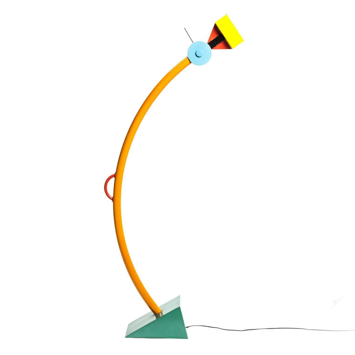 Treetops memphis milano floor lamp by ettore sottsass for Memphis sottsass