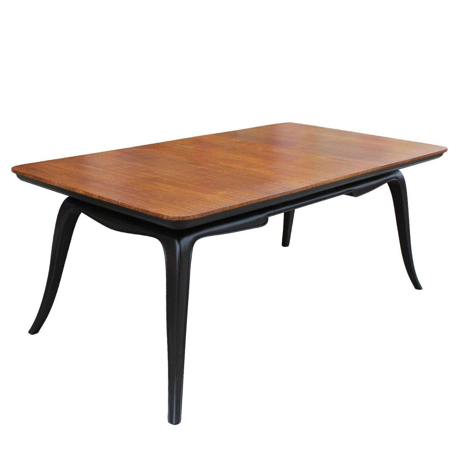 sculptural argentine two tone dining table for sale at 1stdibs