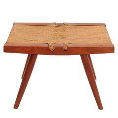 Grass Seat Stool by George Nakashima