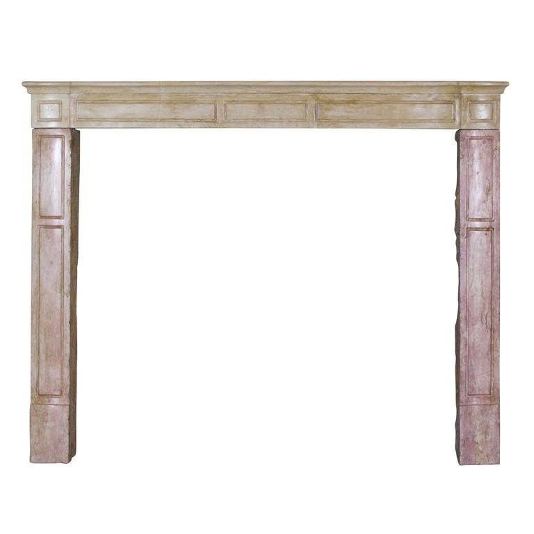 19th Century Antique Fireplace Mantel Modern Lines For Sale At 1stdibs