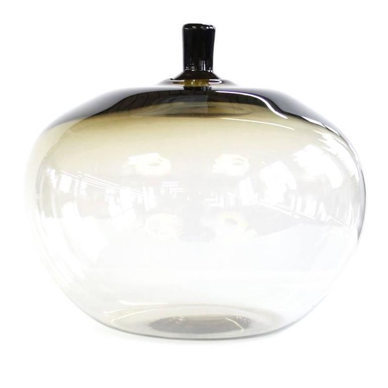 Apple Vase by Ingeborg Lundin for Orrefors
