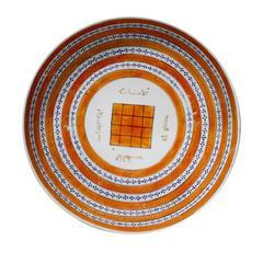 Qianlong Period Talismanic Porcelain Plate