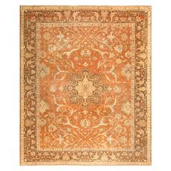 Decorative Antique Indian Amritsar Rug