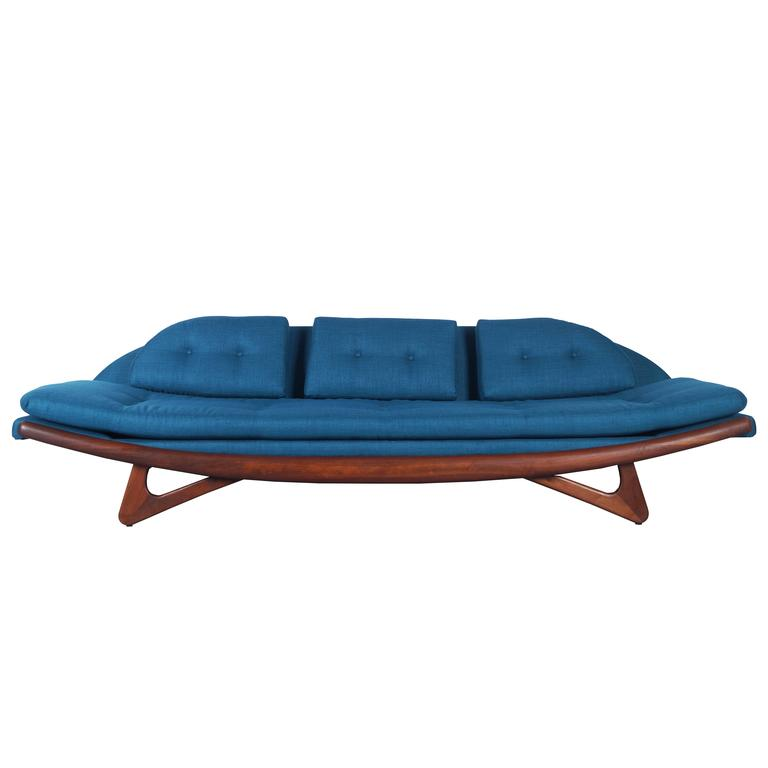 "Adrian Pearsall ""Gondola"" Sofa for Craft Associates at 1stdibs"
