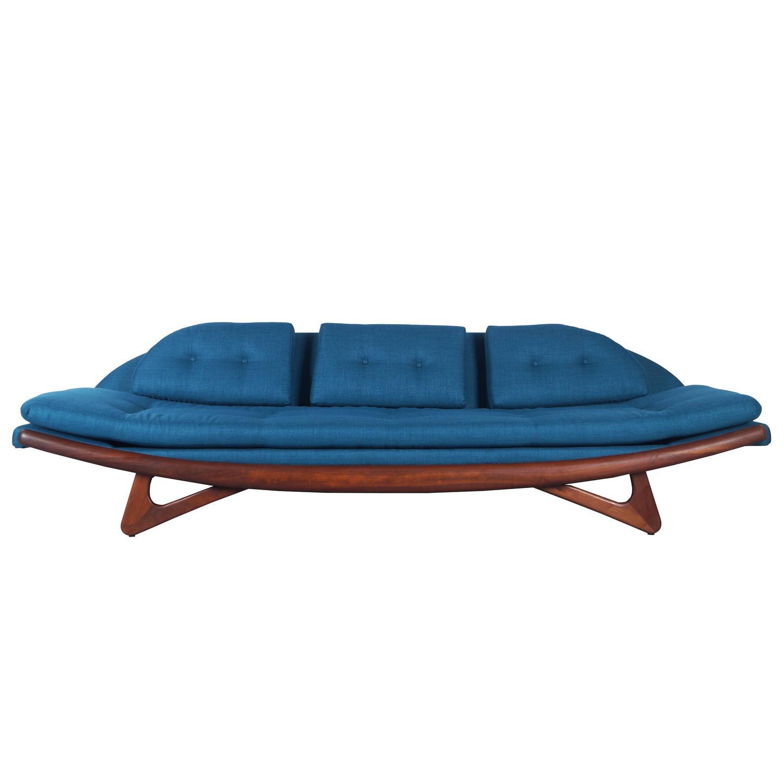 Adrian Pearsall Gondola Sofa for Craft Associates at 1stdibs