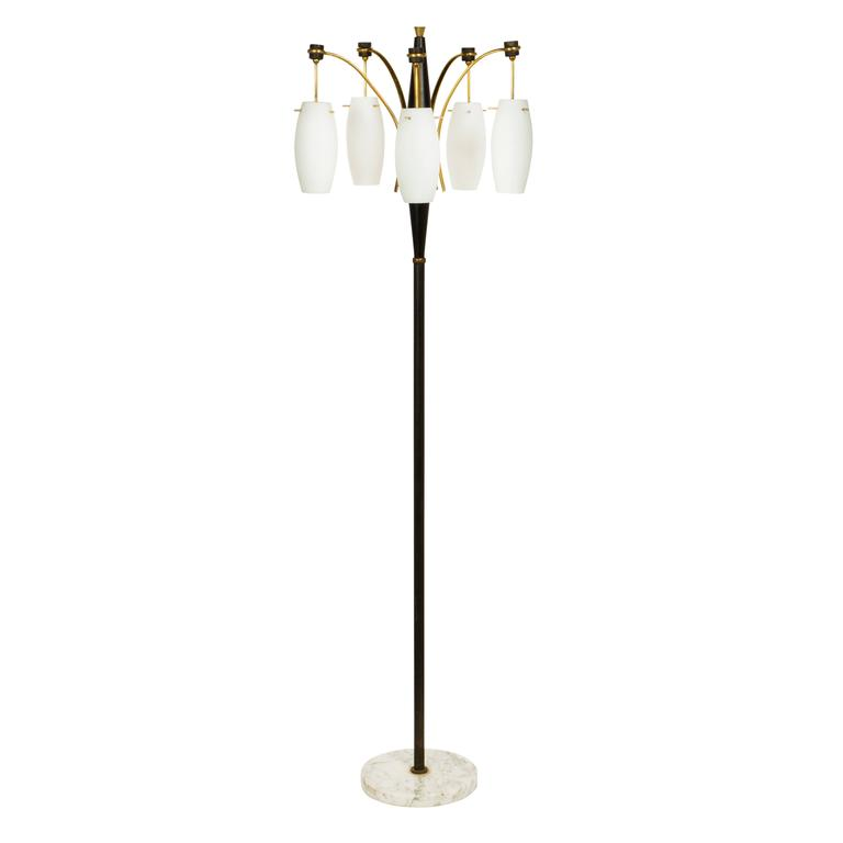 this italian five arm floor lamp is no longer available. Black Bedroom Furniture Sets. Home Design Ideas