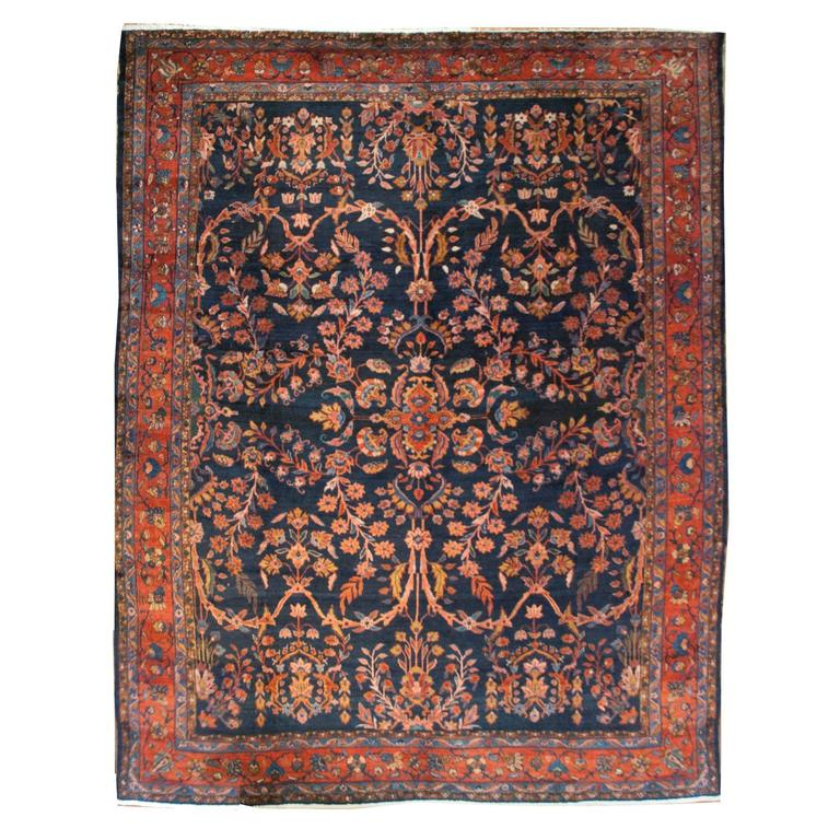 Early 20th Century Lilihan Rug For Sale At 1stdibs