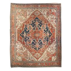 19th Century Serapi Rug