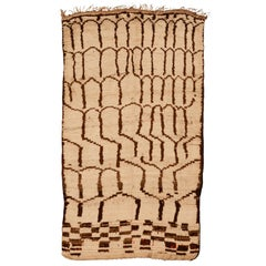 Vintage Azilal Berber Rug with Multiple Niche Pattern