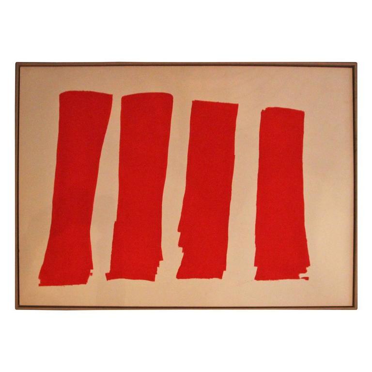 Albert Chubac Painting, Signed, circa 1960, France