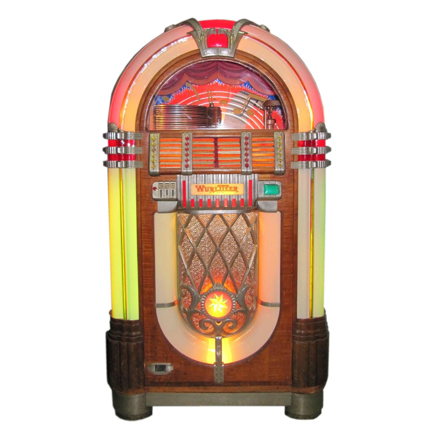 coolest rare wurlitzer juke box ever made original 39 1015. Black Bedroom Furniture Sets. Home Design Ideas