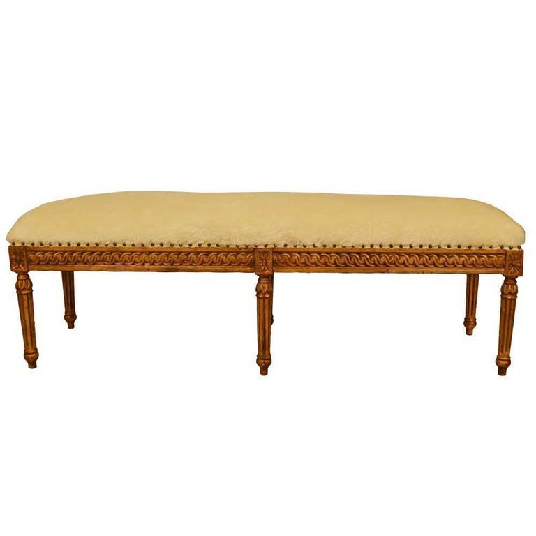 Louis XVI Bench