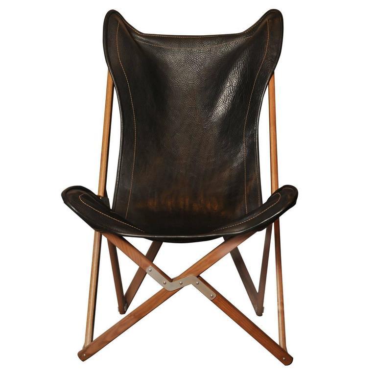 Furniture Johor Bahru Leather Sofa: Black Leather JB Fendy Style Tripolina Chair By Dario