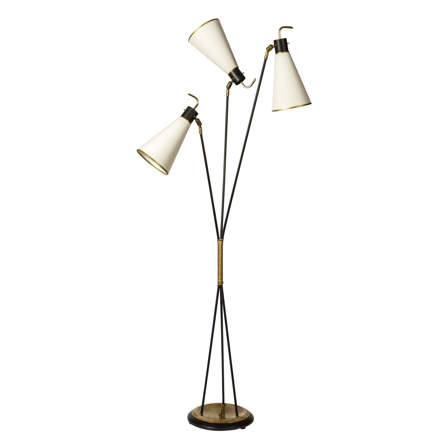 floor lamp by arlus at 1stdibs