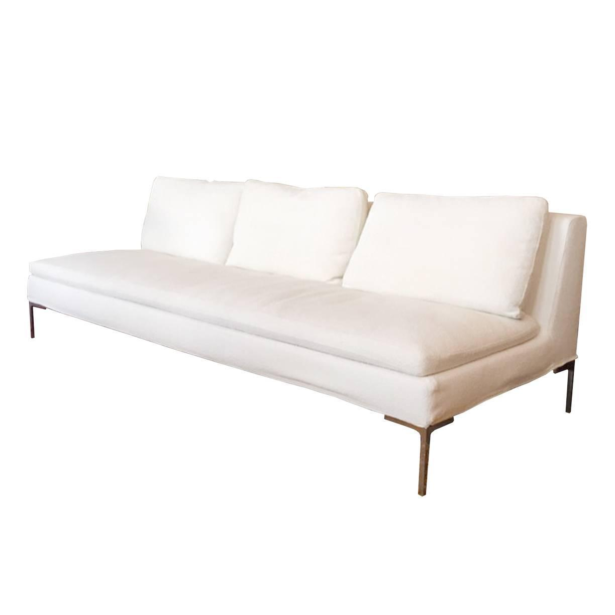 Slipper sofa by b b italia at 1stdibs Slipper loveseat