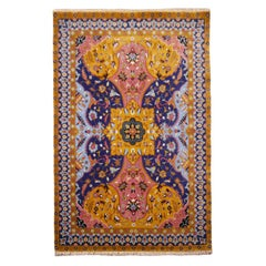 Contemporary PETAG Design indian AGRA rug
