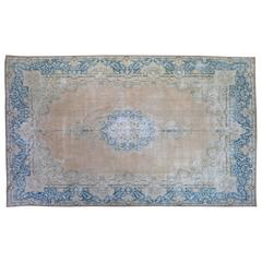 Vintage Persian Overdyed Rug