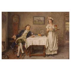 George Goodwin Kilburne Painting