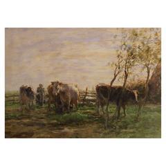 Willem Maris Painting