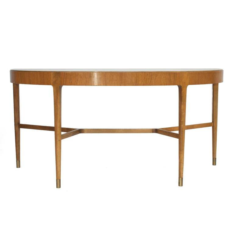 Demilune table at 1stdibs for Table console rabattable