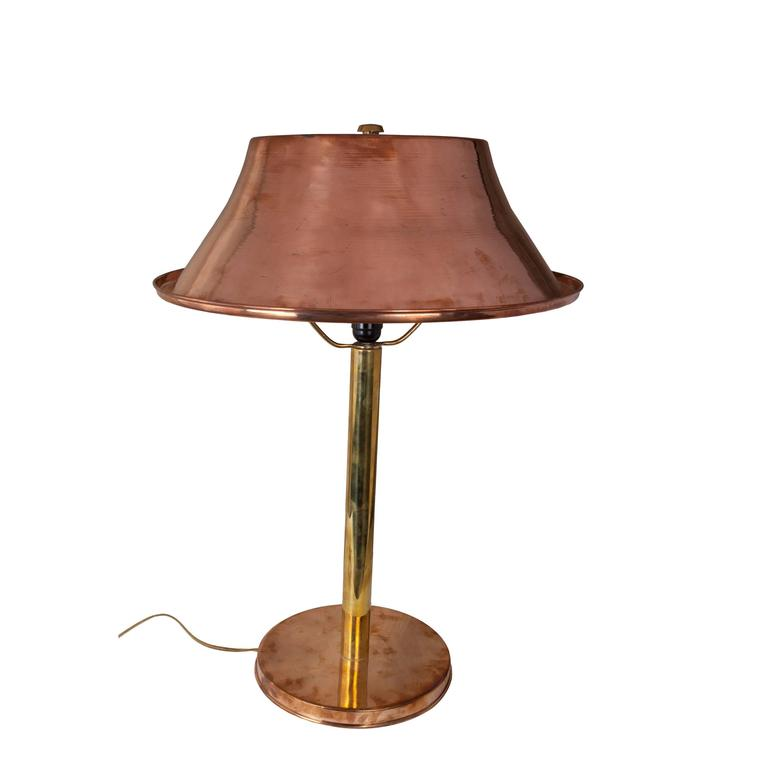 table lamp from mid century ship 39 s stateroom for sale at 1stdibs. Black Bedroom Furniture Sets. Home Design Ideas