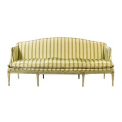 19th Century Italian Neoclassical Sofa with Painted Decoration
