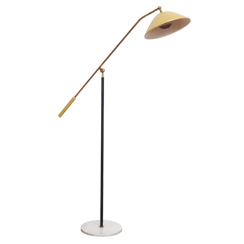 Stilnovo floor lamp 1950s at 1stdibs for 1950s floor lamps