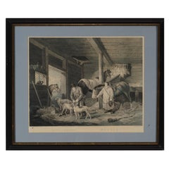 """The First of September """"Morning""""  Engraving, 1799"""