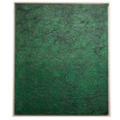 """Green Study #1"" Oil by Elzbieta Gibek"