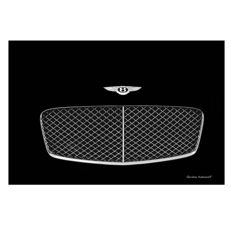 Iconic Bentley Symbol Photograph