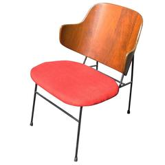 Vintage Midcentury Ib Kofod-Larsen Penguin Chair