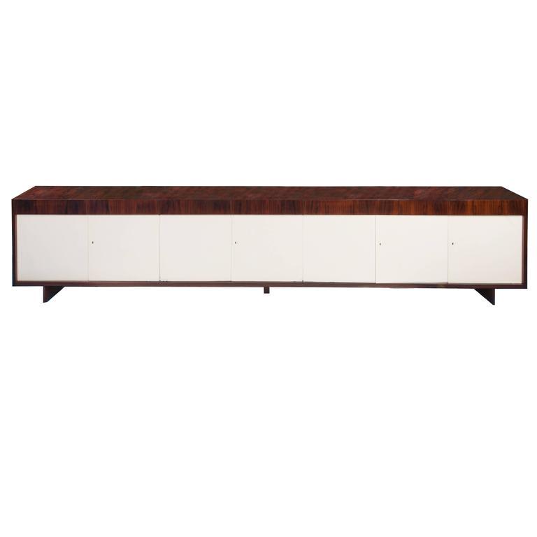 Mid-Century Modern Rosewood Buffet by Joaquim Tenreiro For Sale