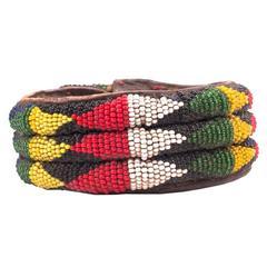 Vintage African Yoruba Tribal Bracelet