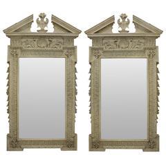 Pair of Fine William Kent Style Mirrors