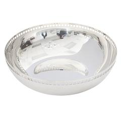 Richard Meier Swid Powell Silver Centerpiece Bowl