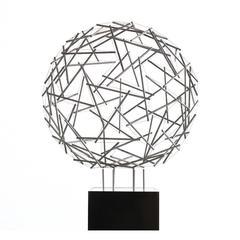 """Buckminster Fuller """"Geodesic Sphere"""" Sculpture"""