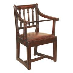 Child's Hepplewhite Dining Armchair