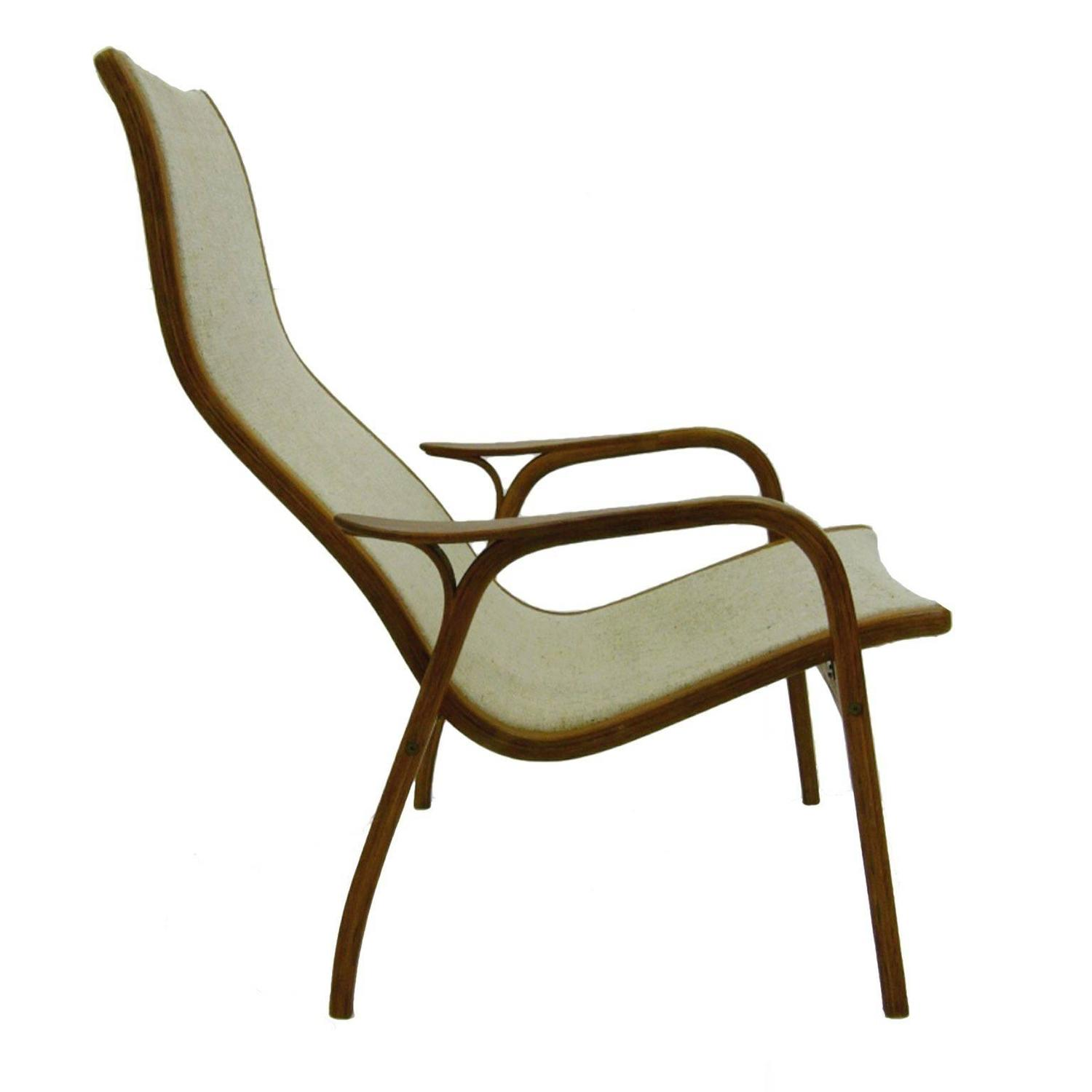 "Yngve Ekstrom Bent Teakwood""Lamino"" Chair for Swedese at 1stdibs"