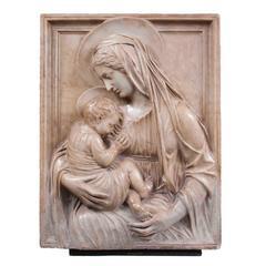 Alceo Dossena, Madonna and Child