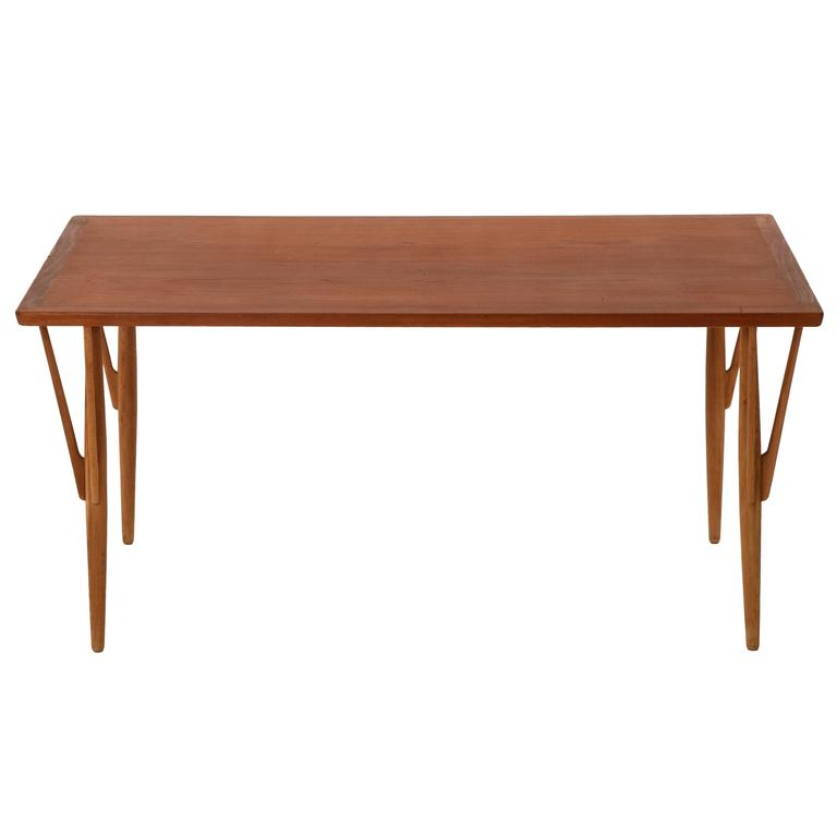 Danish Modern Organic Dining Table by Hans J. Wegner